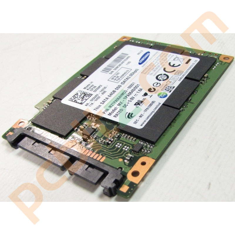 Samsung samsung mztpa064hmcd 000d1 64 64gb usata thin ssd for Domon sata 3 64gb