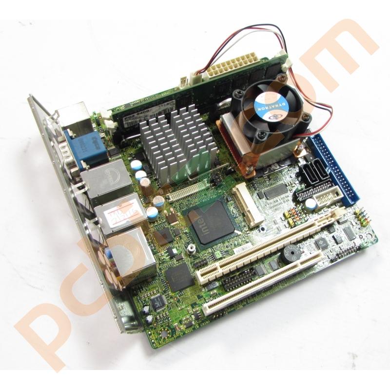 Msi Ms 9803 Ver 1 0 Mini Itx Motherboard Core 2 Duo 2ghz