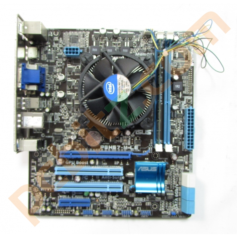 asus p8h67 m le lga1155 motherboard core i5 2300 2 80ghz. Black Bedroom Furniture Sets. Home Design Ideas