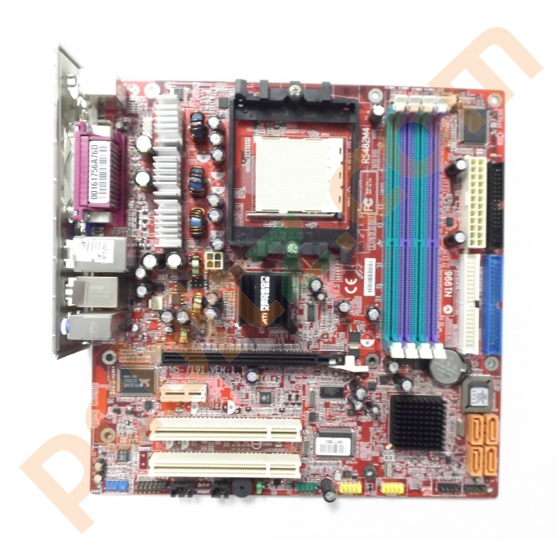 Msi rs482m4 motherboard