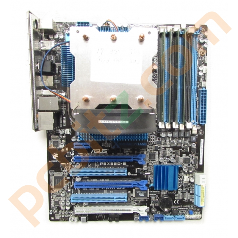asus p6x58d e intel core i7 950 3ghz 4gb ram lga1366 motherboard bundle ebay. Black Bedroom Furniture Sets. Home Design Ideas