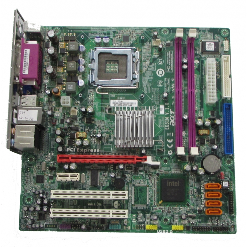 Acer eg31m v. 1. 0 lga775 motherboard with bp motherboards.