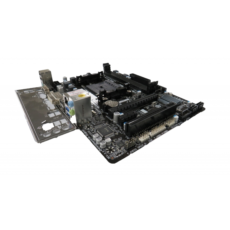 Details about Gigabyte GA-F2A78M-DS2 Rev 3 0 FM2/FM2+ Motherboard with I/O  Shield