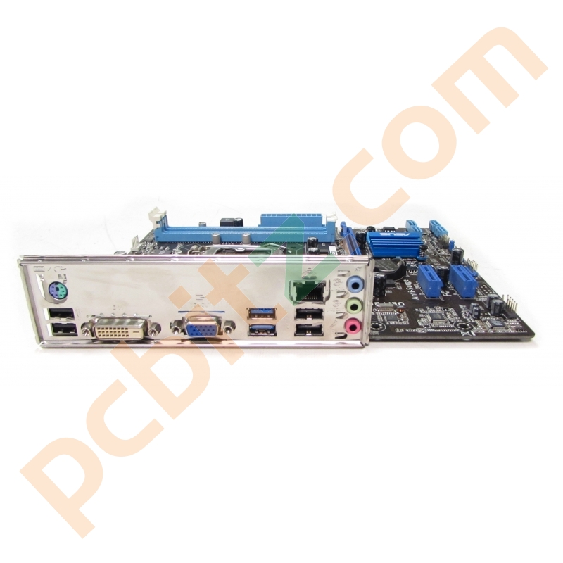 Asus P8H61-MX USB3 Socket 1155 Motherboard With BP Motherboards