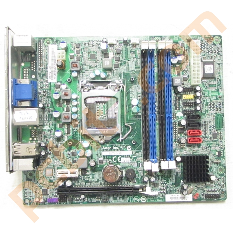 Acer Packard Bell H67H2-AD Socket 1155 Motherboard with
