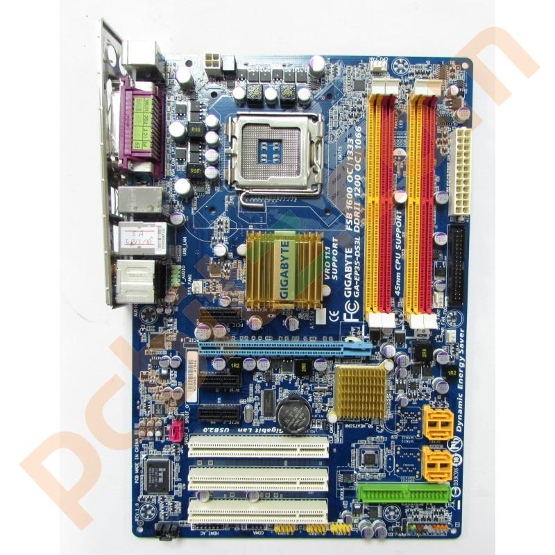 Gigabyte GA-EP35-DS3L REV 1.0 LGA775 Motherboard With BP Motherboards
