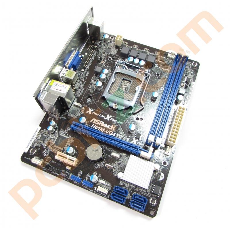 ASRock H61M-VG4 Intel SATA Linux