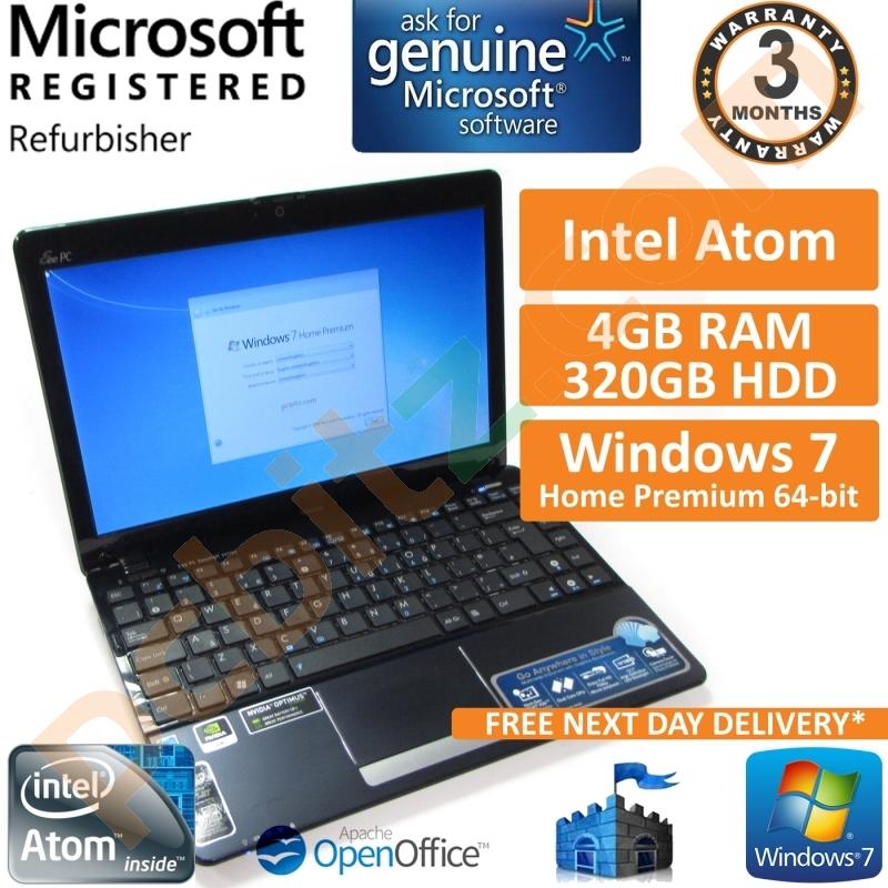 asus laptop windows 7 home premium