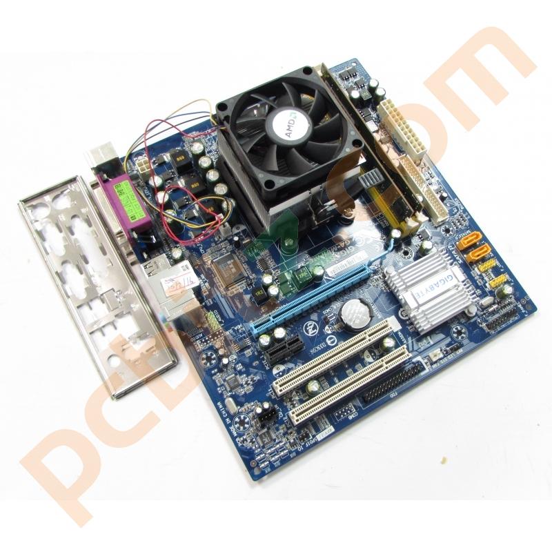 Gigabyte GA M61PME S2 Motherboard Athlon X2 27GHz 2GB DDR2 Bundle