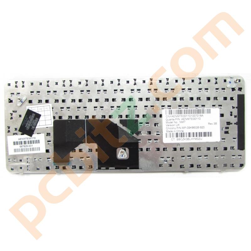 HP Mini 210-1000 UK QWERTY Keyboard NM7 590526-031 Keyboards