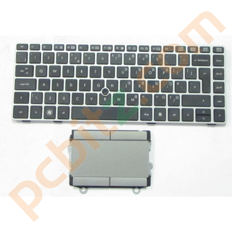 HP EliteBook 8460P Keyboard 635768-031 and Touchpad