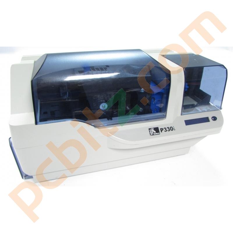 Zebra P330i P330im Plastic Id Usb Card Printer Printers