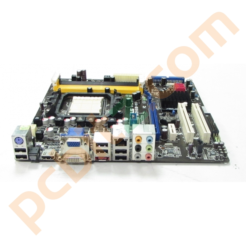 ASUS M2N68-VM Rev 2 01G AM2+ Motherboard Without BP Motherboards