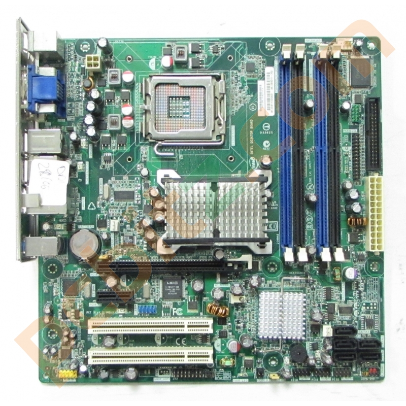 Intel DQ35JOEMX1 Socket 775 Motherboard with Backplate