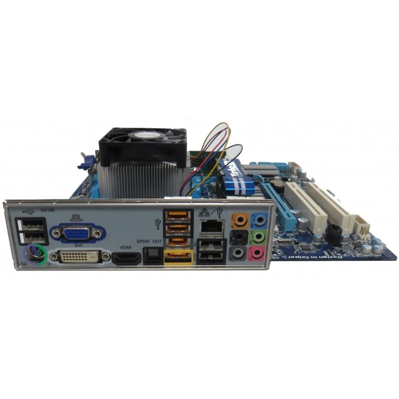 Gigabyte GA-880GM-UD2H, Athlon II 640 X4 3 00GHz, 4GB DDR3, Heatsink