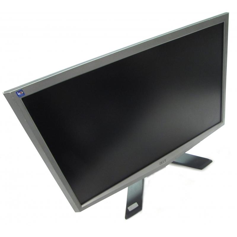 acer x223w 22 lcd monitor silver grade b monitors screens. Black Bedroom Furniture Sets. Home Design Ideas