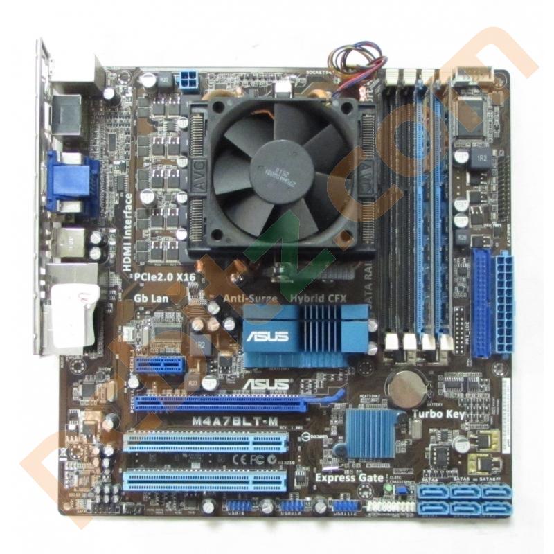 Asus M4a78lt M 1 00 Socket Am3 Motherboard Phenom Ii X6