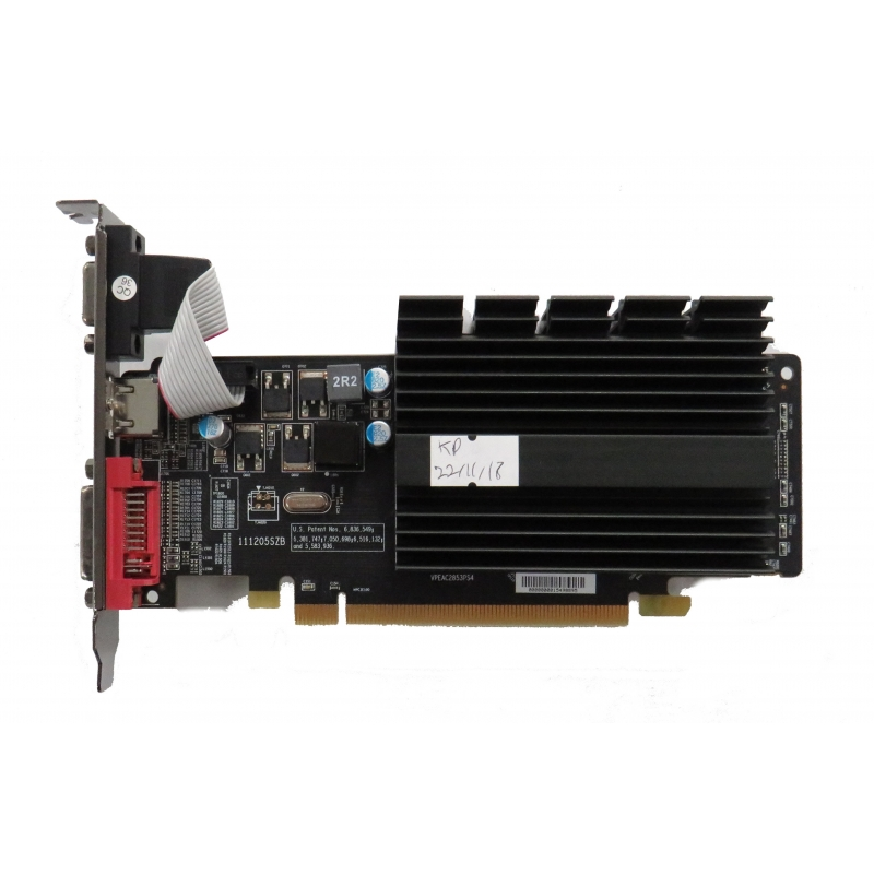 XFX Radeon HD 5450 1GB DDR3 PCI-E Graphics Card HD-545X ...