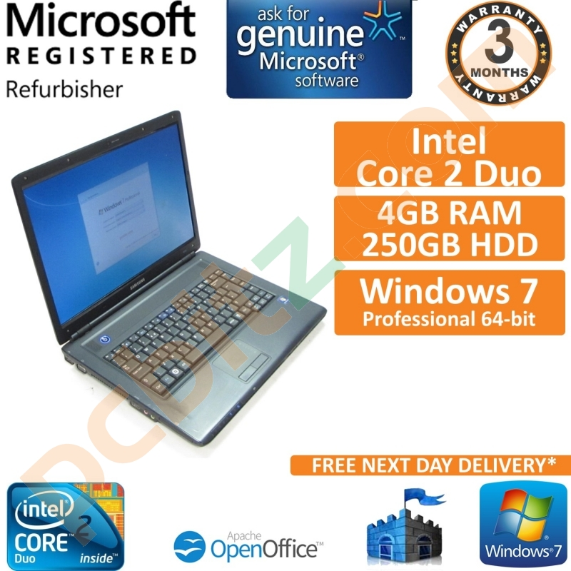 windows 7 for samsung laptop
