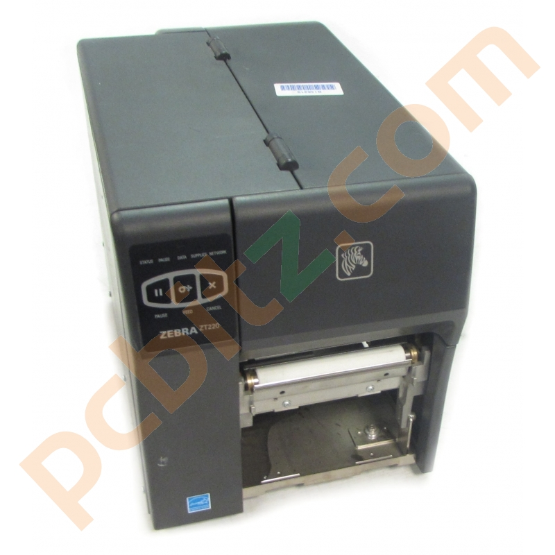Zebra ZT220 Thermal Label Printer (For Parts/Not Working