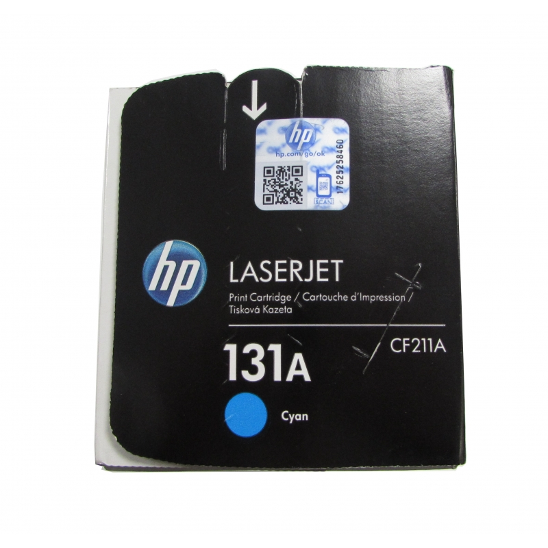 New Genuine HP CF211A Cyan Toner Cartridge for HP LaserJet