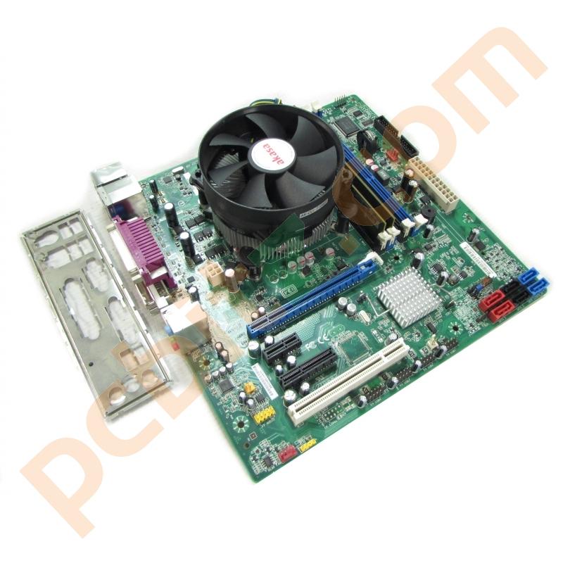 Intel DQ670W Socket 1155 Motherboard, Core i3-2100 3 1GHz + 4GB Ram
