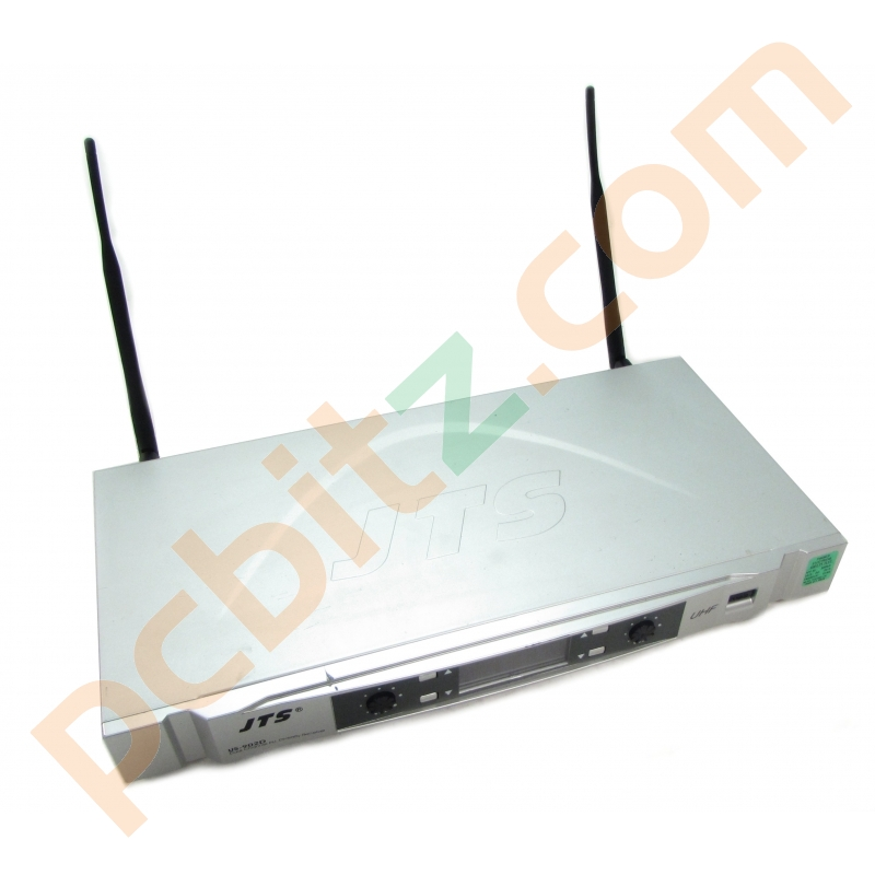 JTS US-902D Dual Channel PLL Diversity Receiver (Power on test only