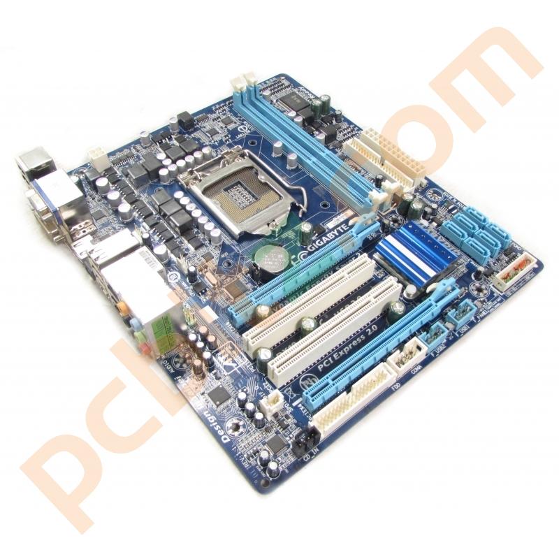 Gigabyte GA-H55M-S2H REV 1.1 LGA1156 Motherboard No BP Motherboards