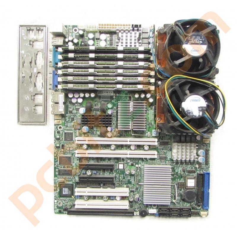 SuperMicro X7DVL-E Rev: 1 21 Dual Socket LGA771 Motherboard