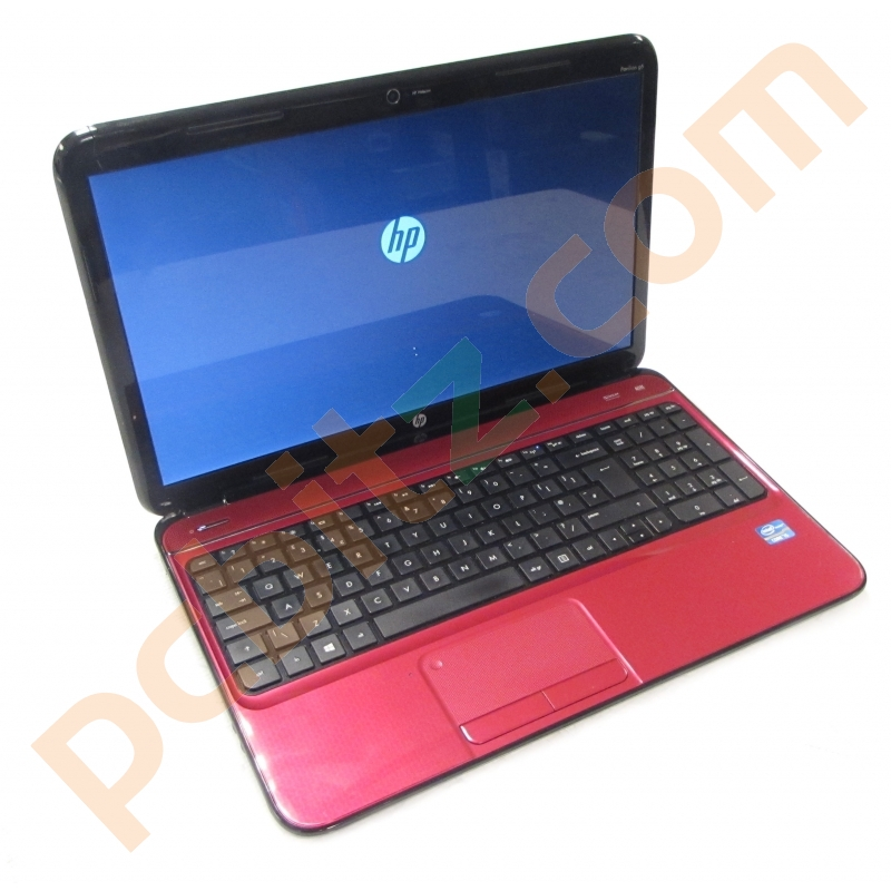 "HP Pavillion G6, Core i5-3210M 2.5GHz, 500GB, 6GB, Windows 10 15.6"" Laptop  (Red) Refurbished Laptops"