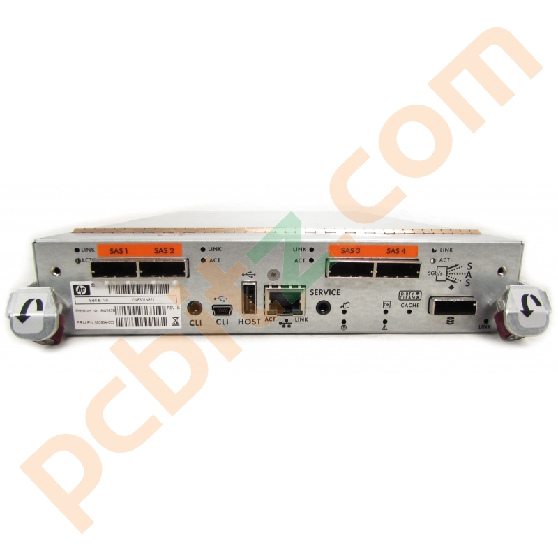 HP 582934-002 AW592B MSA P2000 G3 SAS Controller (Untested
