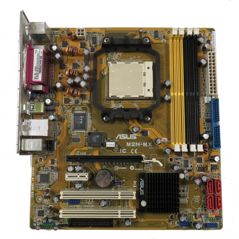 ASUS M2N-MX Rev 1 06G Socket AM2 Motherboard With BP