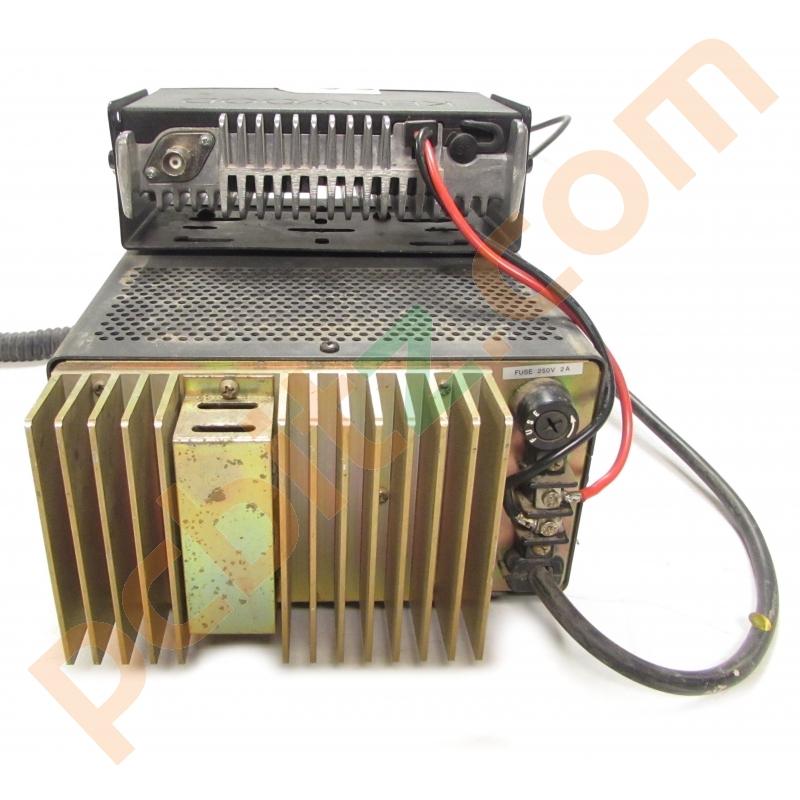 Kenwood TK-8162 Radio + Microphone with KPS-10A PSU (Power on test ...