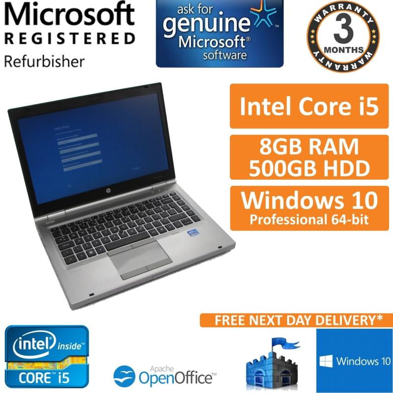 HP EliteBook 8470p, Intel Core i5 2 8GHz, 8GB, 500GB, Windows 10 Pro