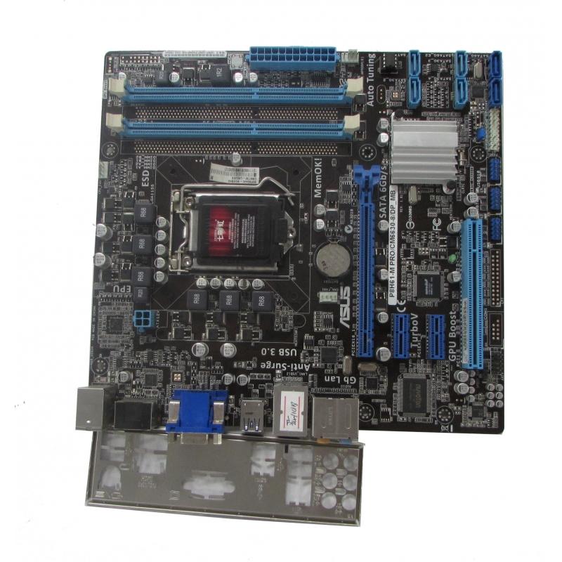 Asus P8H61-M PRO/CM6630-8/DP_MB LGA 1155 Motherboard with BP