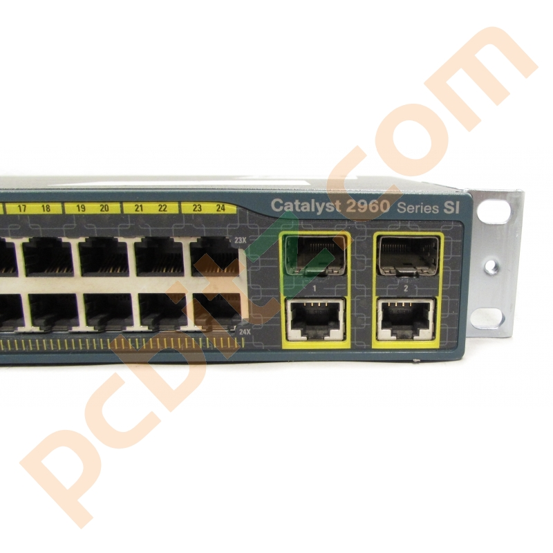 Cisco Ws C2960 24tc S V06 24 Port 10 100 Switch 10 100