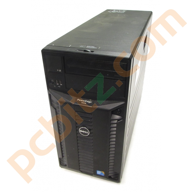 Dell PowerEdge T410 Tower Server, 2 x E5620 2 4GHz, 36GB RAM