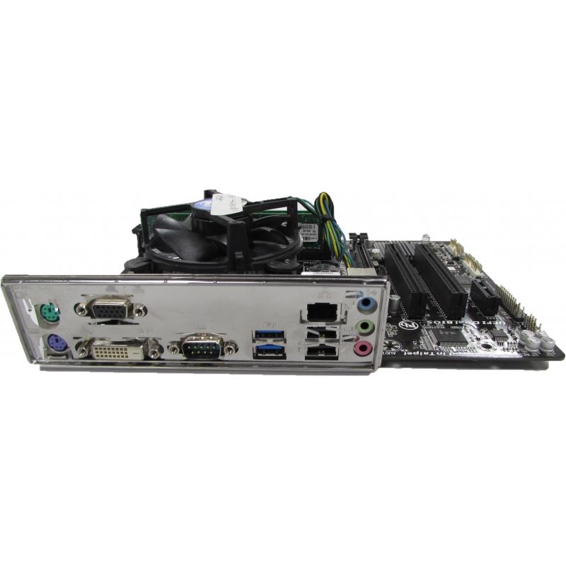 Gigabyte GA-H81M-S2PV Motherboard + Core i5-4430 @ 3 0GHz, 8GB DDR3