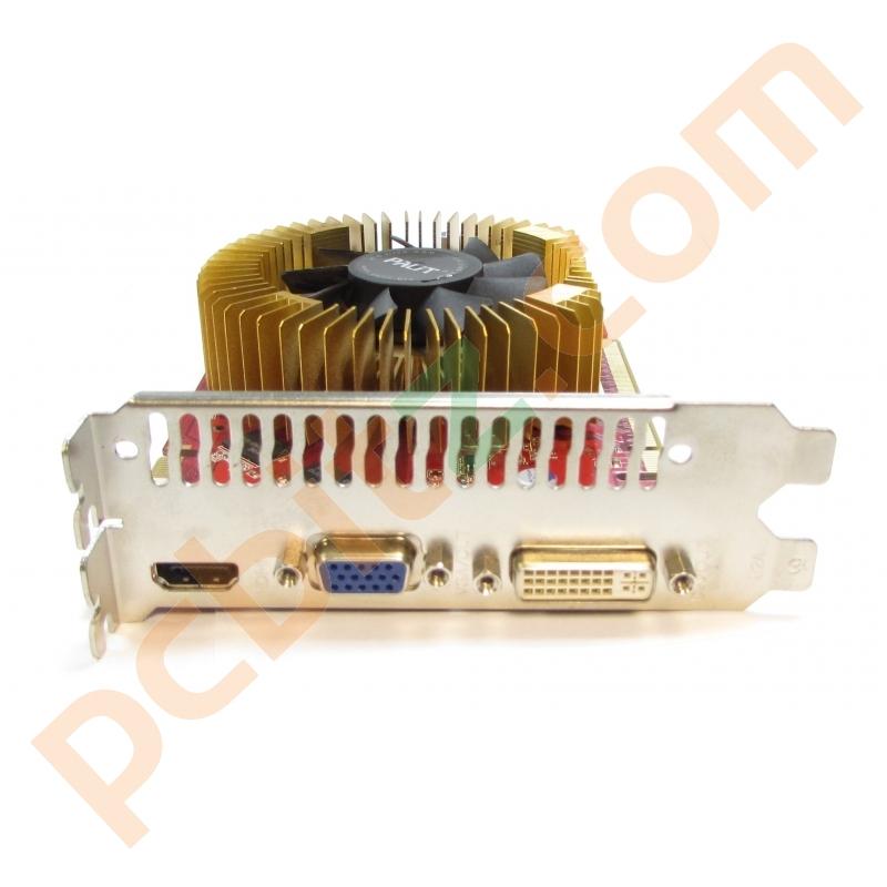 Palit GeForce 9800 GT 512MB DDR3 PCI E VGA DVI HDMI Graphics Card