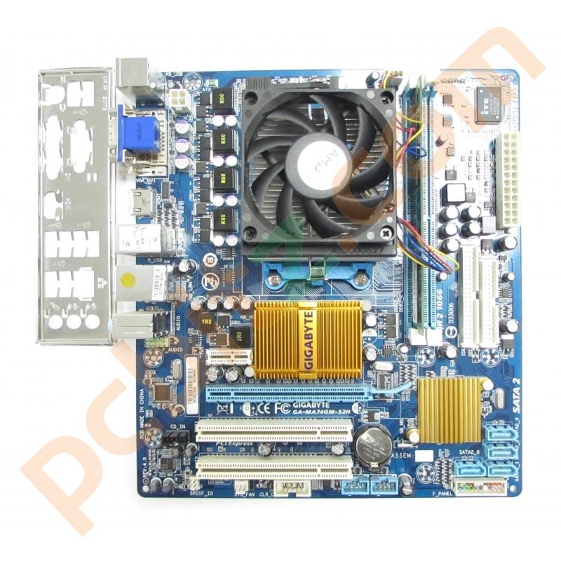Gigabyte GA-MA74GM-S2H AMD SATA RAID Windows Vista 32-BIT