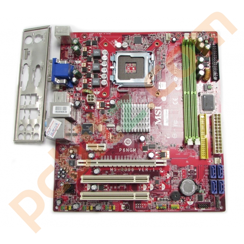 MSI P6NGM-FD Driver for PC