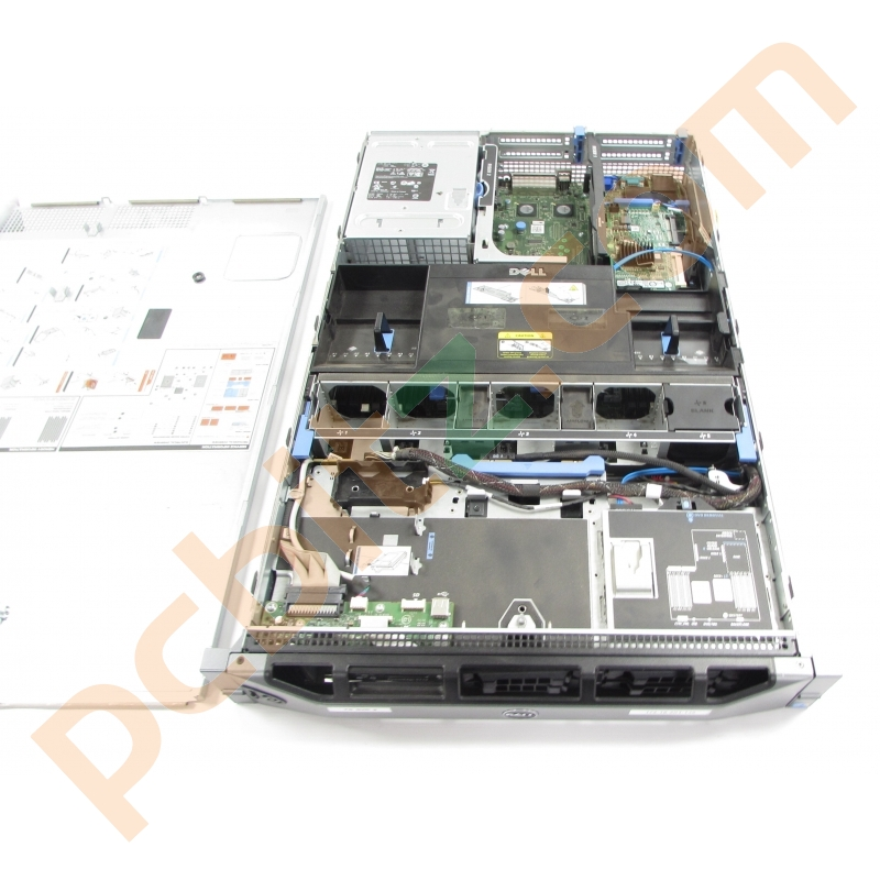 Dell PowerEdge R710 Chassis, PV8DG Motherboard + Dell T954Y