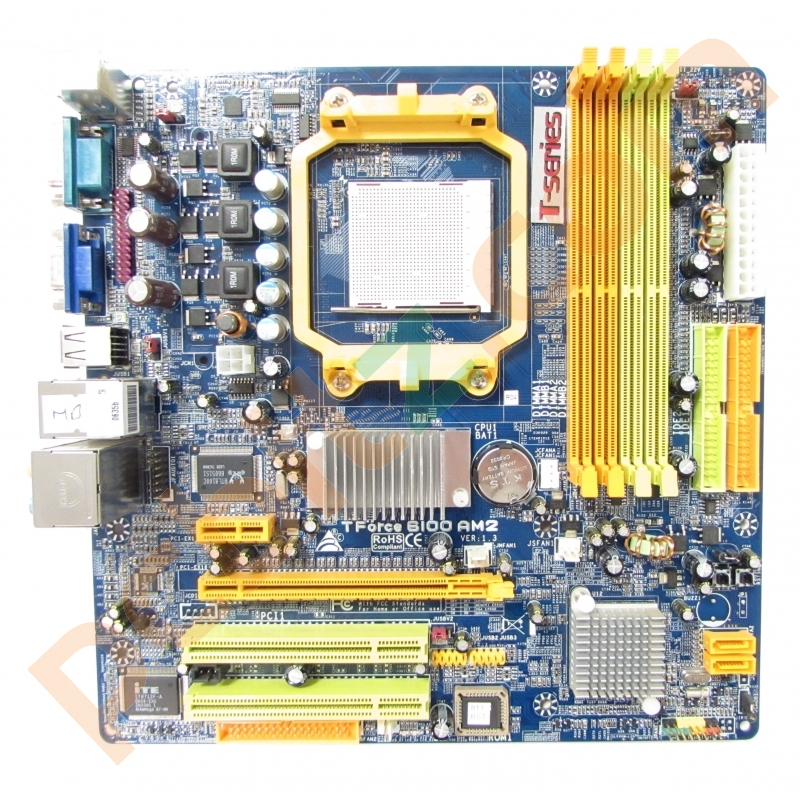 Biostar TForce 6100 Socket AM2 Motherboard With BP Motherboards