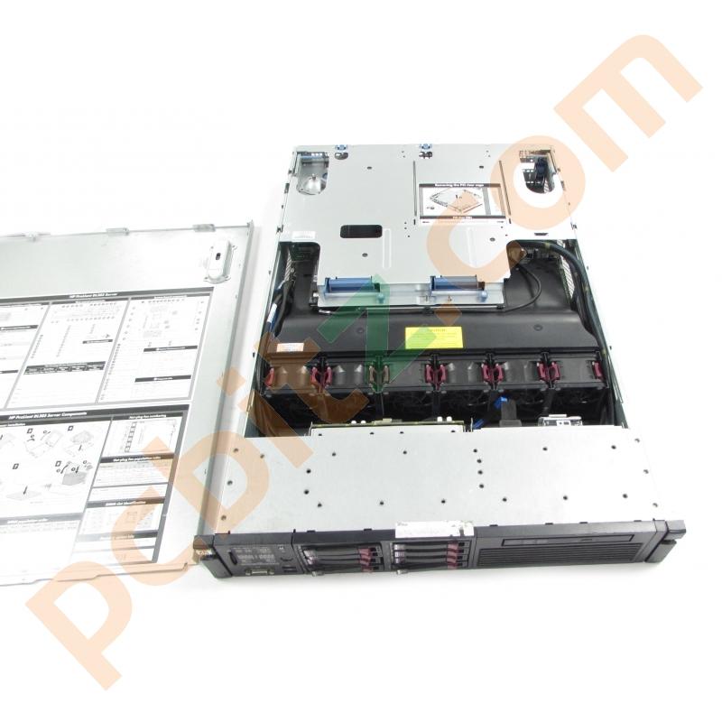 HP Proliant DL385 G6, AMD Opteron 2435 @ 2 6GHz + 64GB RAM