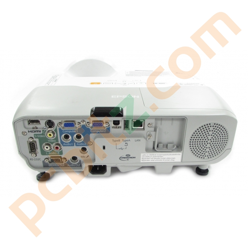 epson eb 420 h447b lcd hdmi projector 24 lamp hours used projectors