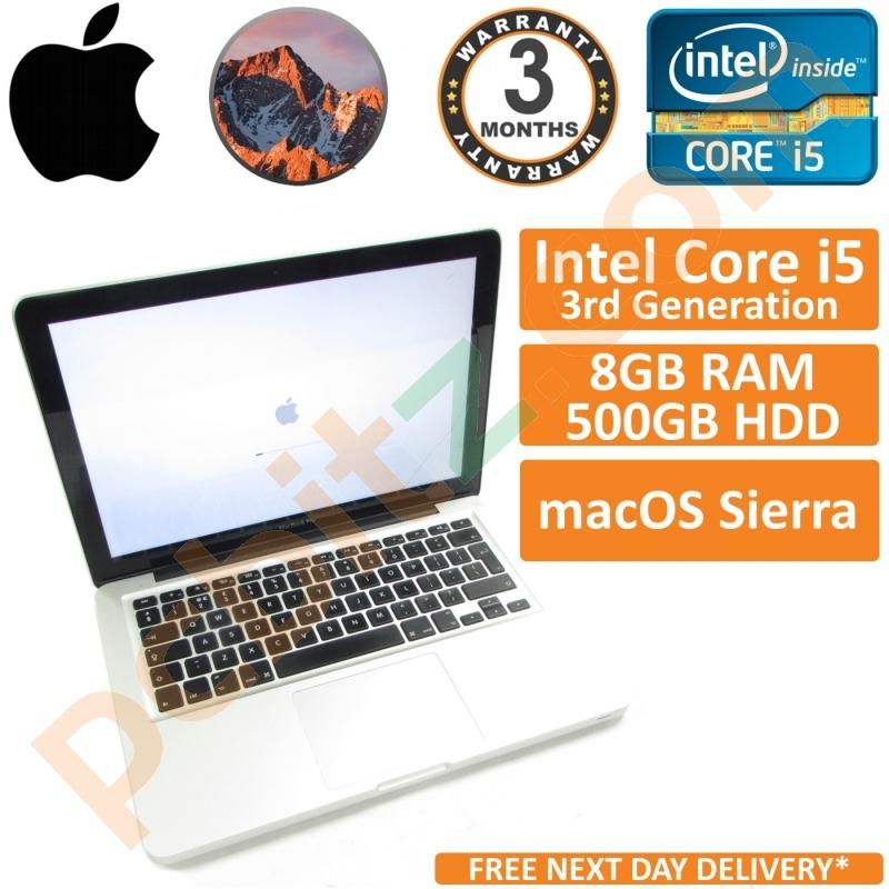 Apple MacBook Pro A1278 i5 2 5GHz, 8GB, 500GB, OS X Sierra 10 12