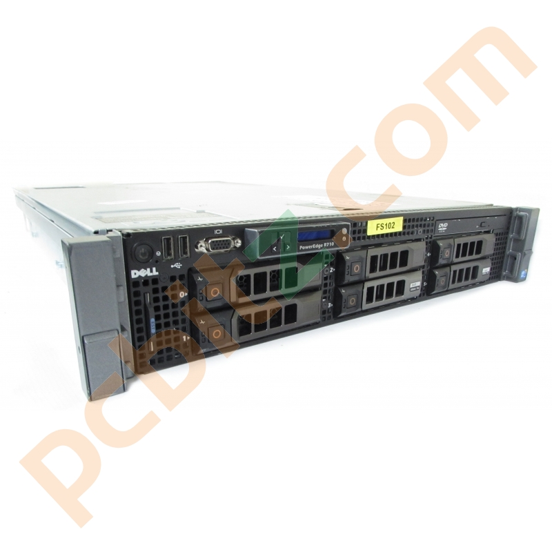 Dell PowerEdge R710 2 x Intel Xeon X5690 @ 3 47GHz, 88GB RAM, No