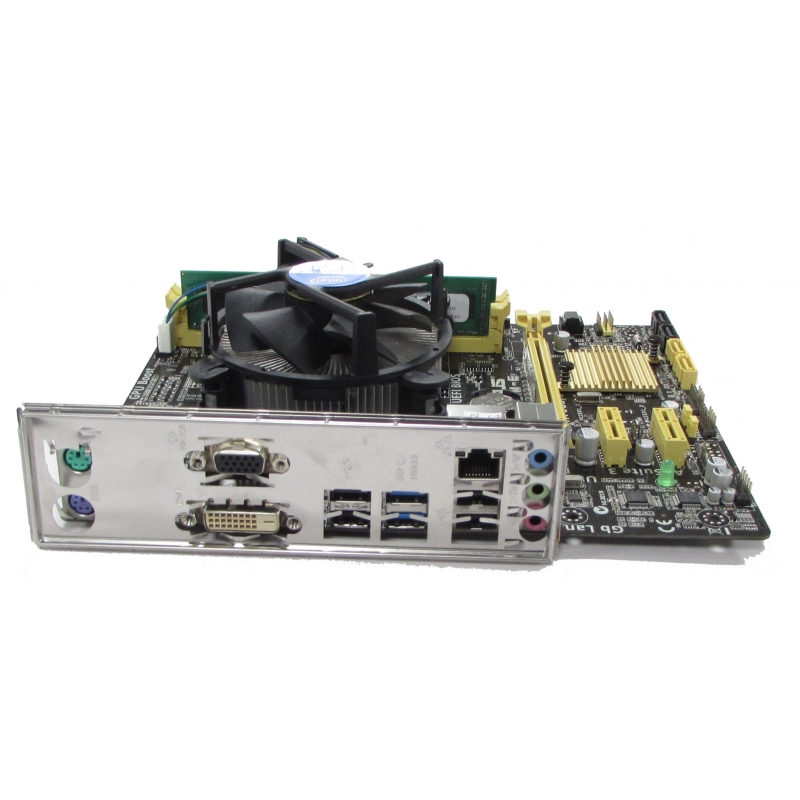 Asus H81M E LGA1150 Motherboard I5 4430 3GHz 4GB RAM