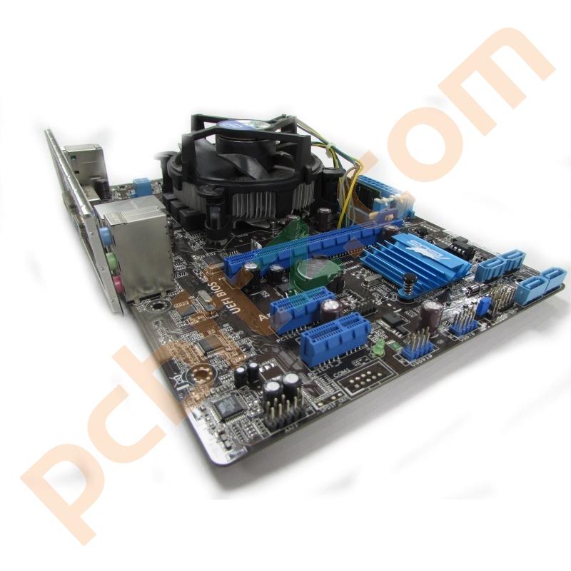 Asus P8H61-MX LGA1155 Motherboard + i5-3330 @ 3 0GHz, 4GB DDR3