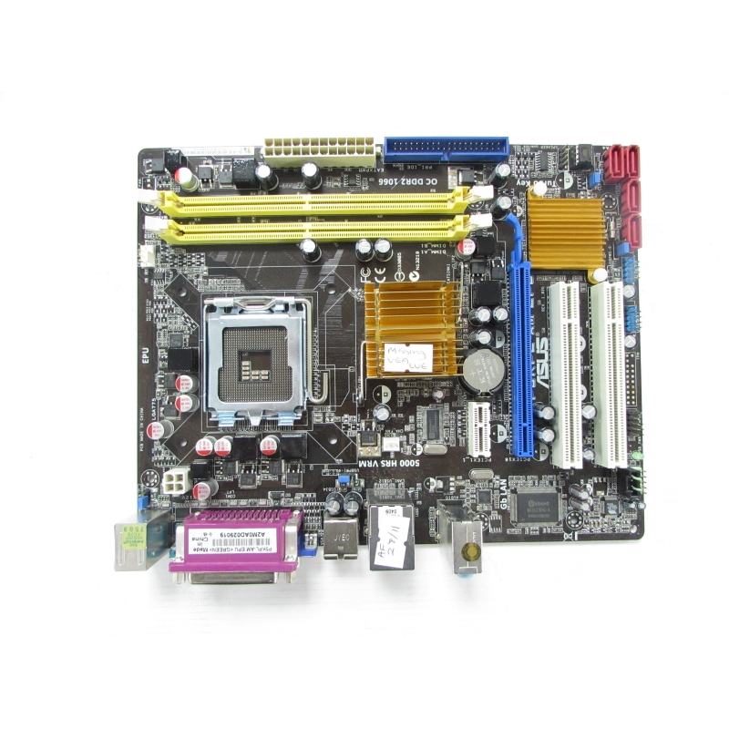 Asus P5KPL-AM EPU REV 1 02 LGA775 Motherboard No BP Missing